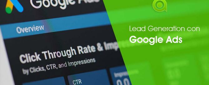 generare Lead con Google Ads