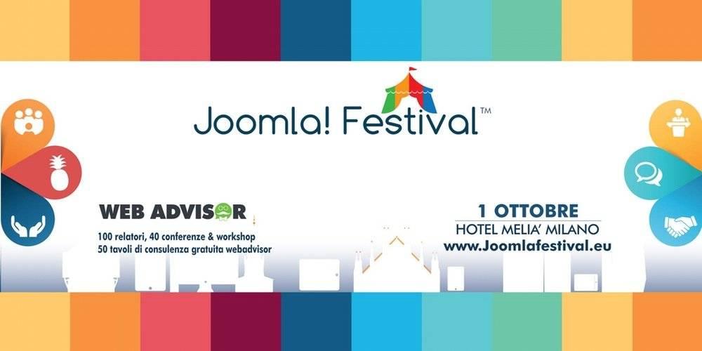 Joomla Festival, ci vediamo a Milano 2